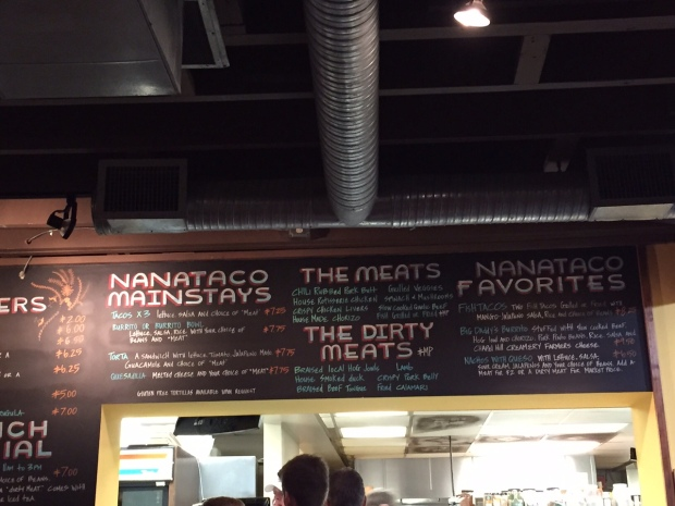We ate the most badass tacos at NanaTaco in Durham. What they do to pork might not even be legal.